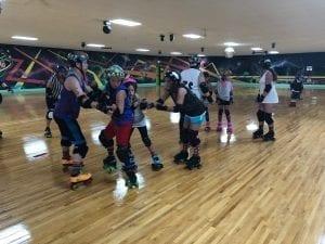 Co-ed Junior Roller Derby