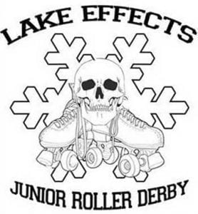 Lake Effects Jr Roller Derby Logo