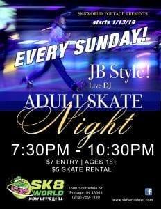 jb adult skate night