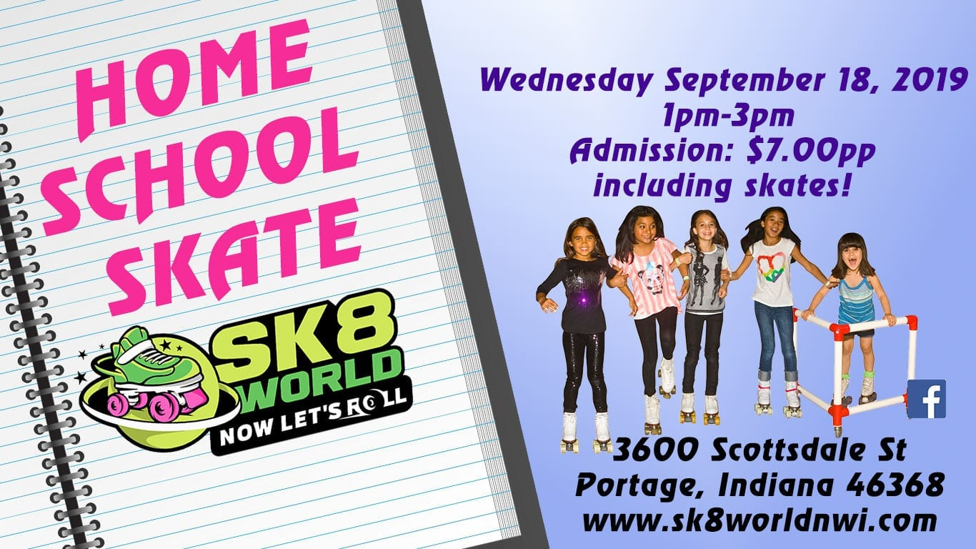 September 18 Home School Skate