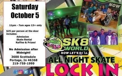October Lock In All Night