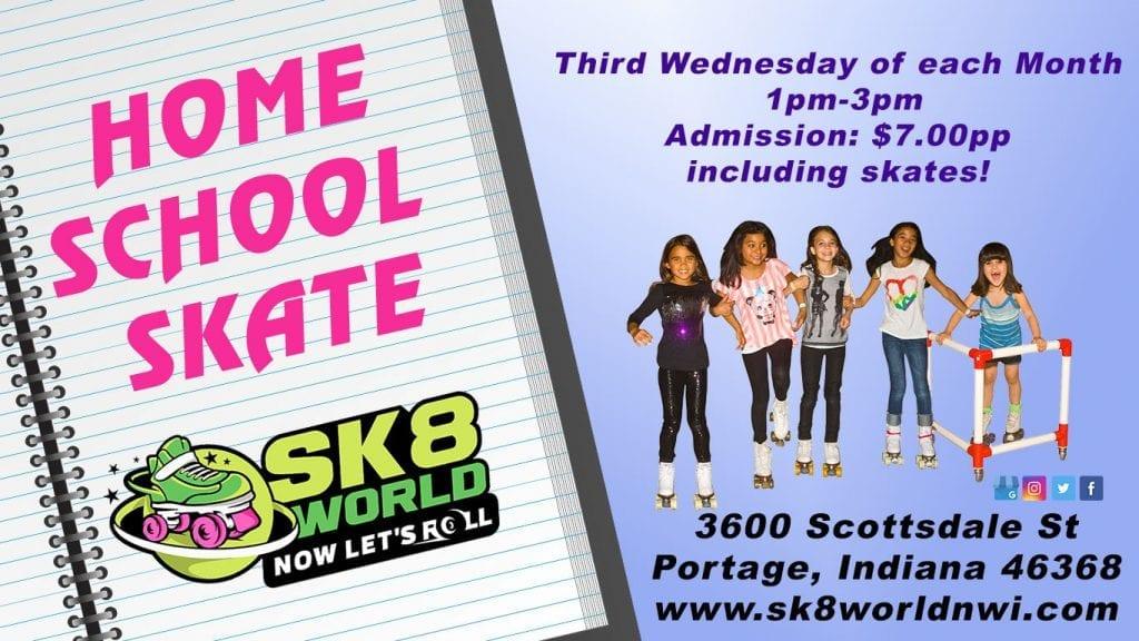 Home School Skate Ad
